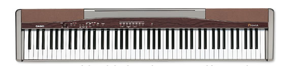 px 100 privia digital pianos electronic musical instruments casio. Black Bedroom Furniture Sets. Home Design Ideas
