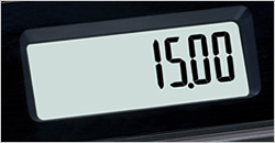 Easy-to-read LCD displays